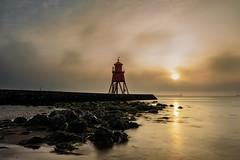 Peaceful Bliss (Mark240590) Tags: wideangle morning longexposure longexpo lighthouse clouds cloud sun sunrise