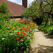 Flower beds at Standen House