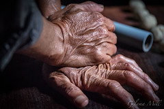 Hoi An - The Baker's hands (Gilama Mill) Tags: asia people travel vietnam water hoian baker baking cooking man cook kitchen