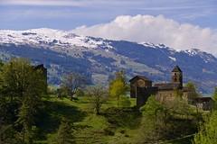 Once upon a time (evakatharina12) Tags: hohenrätien hohenräten hochrialt sils domleschg graubünden grisons switzerland schweiz thusis viamala hinterrhein castle ruin church