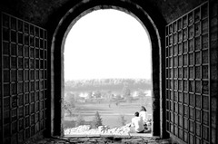 Break on through to the other side (Valantis Antoniades) Tags: serbia belgrade kalemegdan fortress gate gates monochrome black white