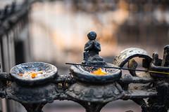 Swayambhu detail (rfabregat) Tags: nepal nepali nepalese asia kathmandu swayambhunath temple buddhism buddha tradition nikond750 d750 nikon incense