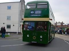 XF 3 (Boxley) Tags: bus green experimental doubledecker daimler parkroyal londontransport eastgrinstead londoncountry runningday cuv53c daimlerfleetline daimlercrg6lx countrybusrunningday