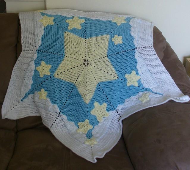starry starry night afghan free crochet pattern