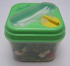 Fit & Fresh salad container (assembled)