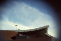 The roof of the Santa Fe Opera