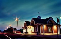 Night station - by James Jordan