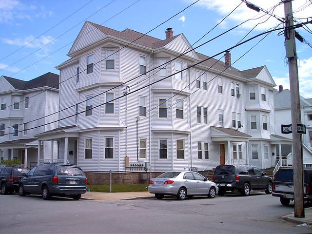 Marie Rose Ferrons 3rd house she lived at 131 Merchant St 3rd floor Fall River Massachusetts USA 052 by Marie Rose Ferron