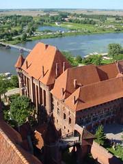 Malbork, Pomorze, Poland (LeszekZadlo) Tags: city castle heritage architecture buildings town eu poland polska unesco polen polonia ue pomerania pommern pologne malbork teutonic   pomorze ph575 5photosaday  oureurope