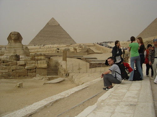 Giza, Egypt - Pyramid sphinx
