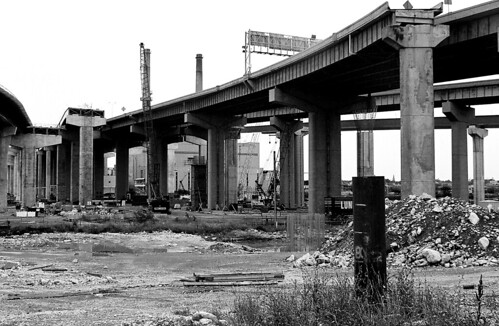 Marquette Interchange Reconstruction: Milwaukee, WI - flickr/Zack K