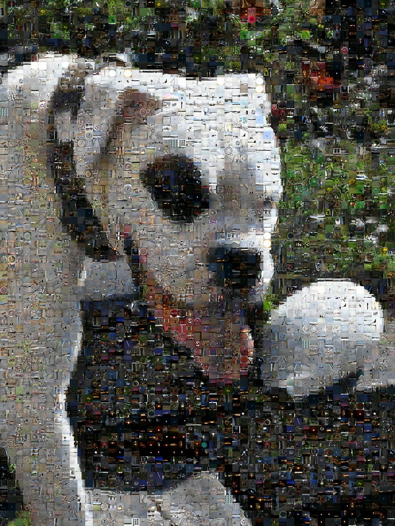 Benny The Boxer Mosaic