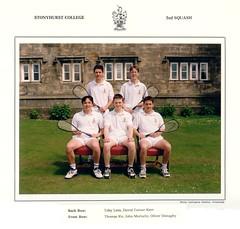 Stonyhurst 2nd Squash 1998 (Johny M) Tags: squash 1998 stonyhurst thomasko johnmoriarty tobylees davidturnerkerr oliverdonaghy