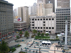 Union Square from The Cheesecake Factory