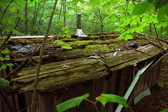 Abandoned Cabin, Cross Village, MI (snapstill studio) Tags: abandoned trash rural forest woods junk decay michigan upnorth crossvillage martinmcreynolds