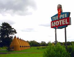 TEE PEE MOTEL (BOB WESTON) Tags: teepee motels teepeemotel whartontexas