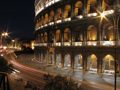 Colosseum At Night II (brianwallace) Tags: italy rome ruins colosseum arena canong5