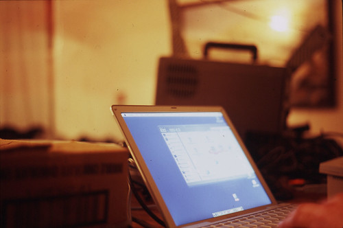 laptop at show by tango.mceffrie, on Flickr