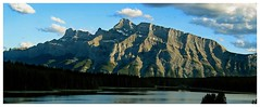 View From Two Jack Lake (Sarx) Tags: mountain canada rockies alberta sarx