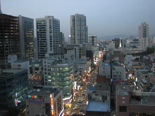Gangnam-gu, Seoul, Sunset