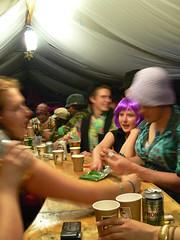 Star bar at Shambala (haveyouseenthisgirl) Tags: family friends camp festival night wasted funny dress arm wrestling crossdressing messy fancy wigs fancydress bit shambala festie