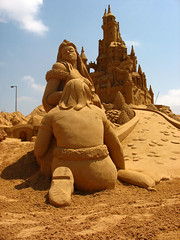 Fairy tales' Royal Blowjob (eyair) Tags: art festival israel sand haifa blowjob ashmashashmash