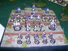 Another nice Protectorate army (Casey Willis) Tags: 2006 gencon warmachine
