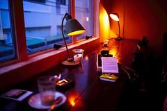 #05 one day in Kobe (moaan) Tags: 35mm cafe 2006 kobe zeissikon kodake100vs lastshot beautifulday thememoryinaugust carlzeissbiogontf20zm unforgettablescene gettyimagesjapanq1 gettyimagesjapanq2