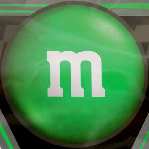 green m m