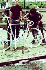 R.I.P. (PoZolE) Tags: nyc brooklyn rip crossprocessing gothamist pozole nuevayork bikemessengers bronxjohnnie