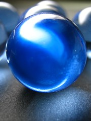 The Big Blue (mtyto) Tags: blue black color colour macro glass canon ball lemonade marbles ixy sodabottle top20system canonixydigitall2 canonpowershotsd20 top20colorpix lovephotography mtyto canondigitalixusi5