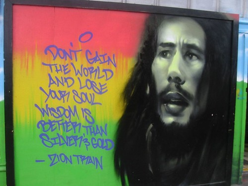 Bob Marley Quote Welcome