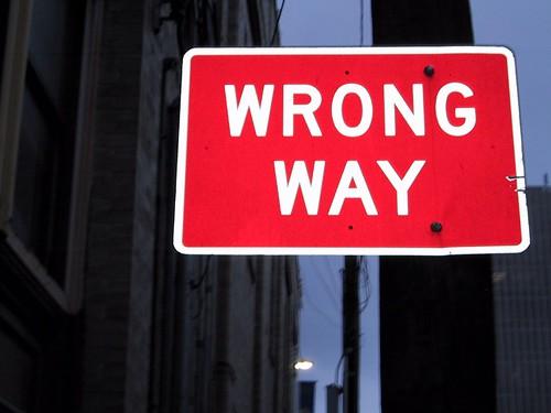 Wrong Way