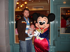 first ever meeting with Mickey!