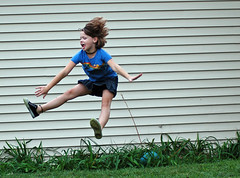 Sitting jump (wishymom (Stephanie Wallace Photography)) Tags: jump jumping action utatajumps