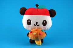 Pandapple (martianmermaid) Tags: mushroom panda plush sanrio pandapple