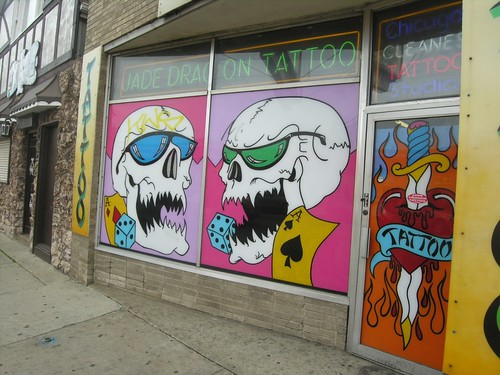 Jade Dragon Tattoo Parlor - 5300 block of W Belmont Ave. Get a fresh take on homes, neighborhoods and the way life's lived in Chicago's Cragin neighborhood