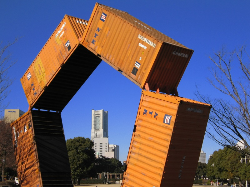 shipping-container-architecture information repository