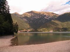 Mountain lake /   (dmitryku) Tags: lake beach rivadelgarda