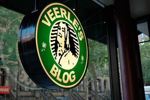 Veerle's Blog at Starbucks