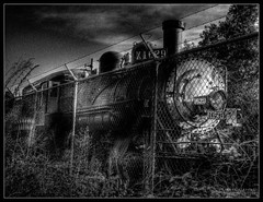 ghost train (Kris Kros) Tags: california ca bw usa white black halloween public cali train photoshop fence photography 22 la us losangeles interestingness high interesting nikon bravo dynamic cs2 president ghost engine ps abraham x steam socal lincoln kris locomotive abe range hdr kkg 411 1629 50v5f photomatix pscs2 kros kriskros 5xp kk2k abigfave artlibre x1629 kkgallery