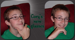 Cory's new glasses