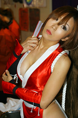 Even More Mai Shots (Maxx Manboeuf) Tags: show game japanese tokyo babes hotties chicks tokyogameshow racequeen tgs2006