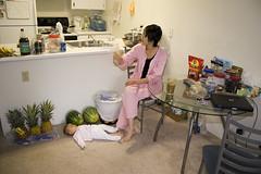202885~1 (linmark333) Tags: pineapple watermellon lyingonfloor