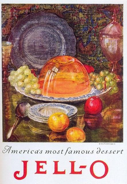 Jell-O ad, 1925