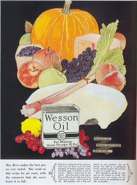 Wesson Oil ad, 1924