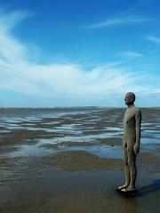 Another Place (Marshall24) Tags: beach statue liverpool nude antonygormley merseyside anotherplace crosbybeach crobsy marshall24