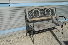 Curley bench.