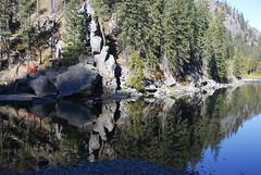 Reflections - Levanworth Washington in the Fall