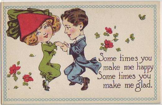 Couple Dancing, card 2